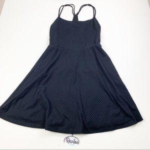 Mossimo Black Knit Texture Sleeveless Dress E3572